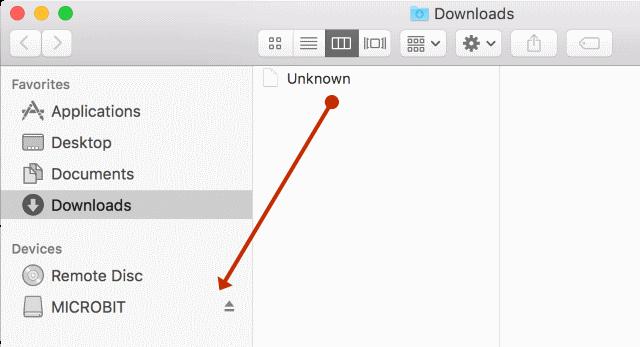 Uploading from Safari for Mac - Microsoft MakeCode