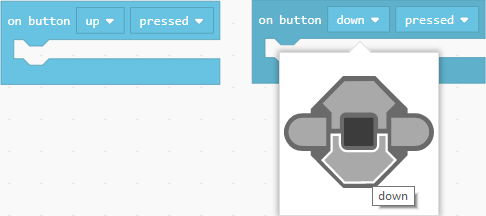 Button dropdown selection