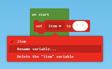 rename variable