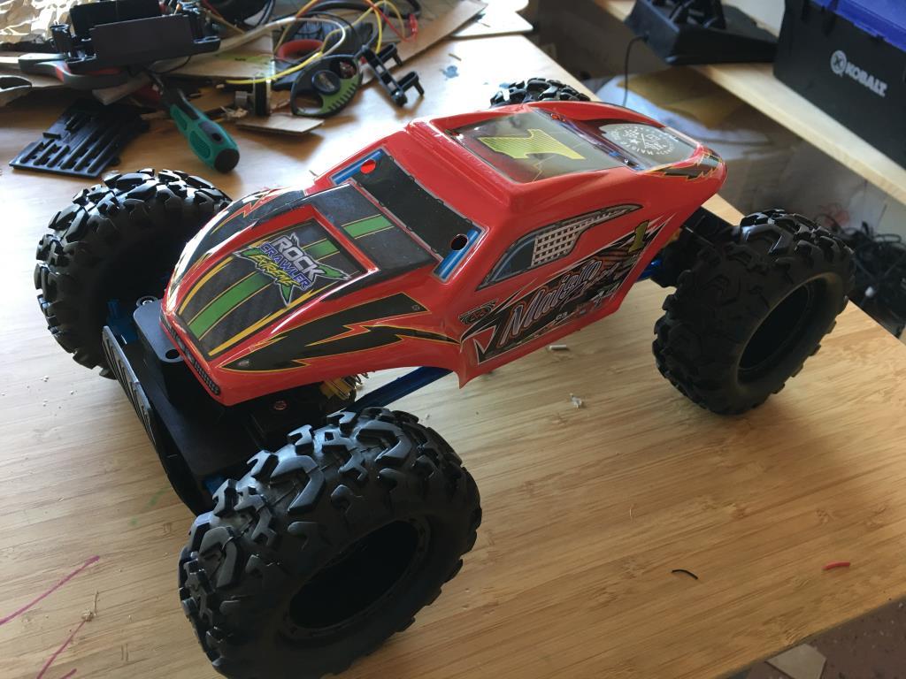 A toy RC car
