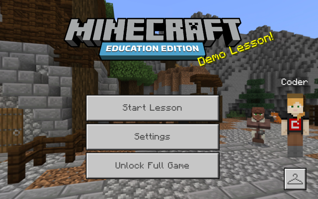 Minecraft Demo Lesson