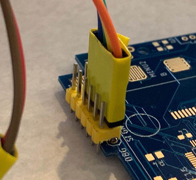 Debug connector