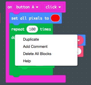 Duplicate the repeat loop for fade