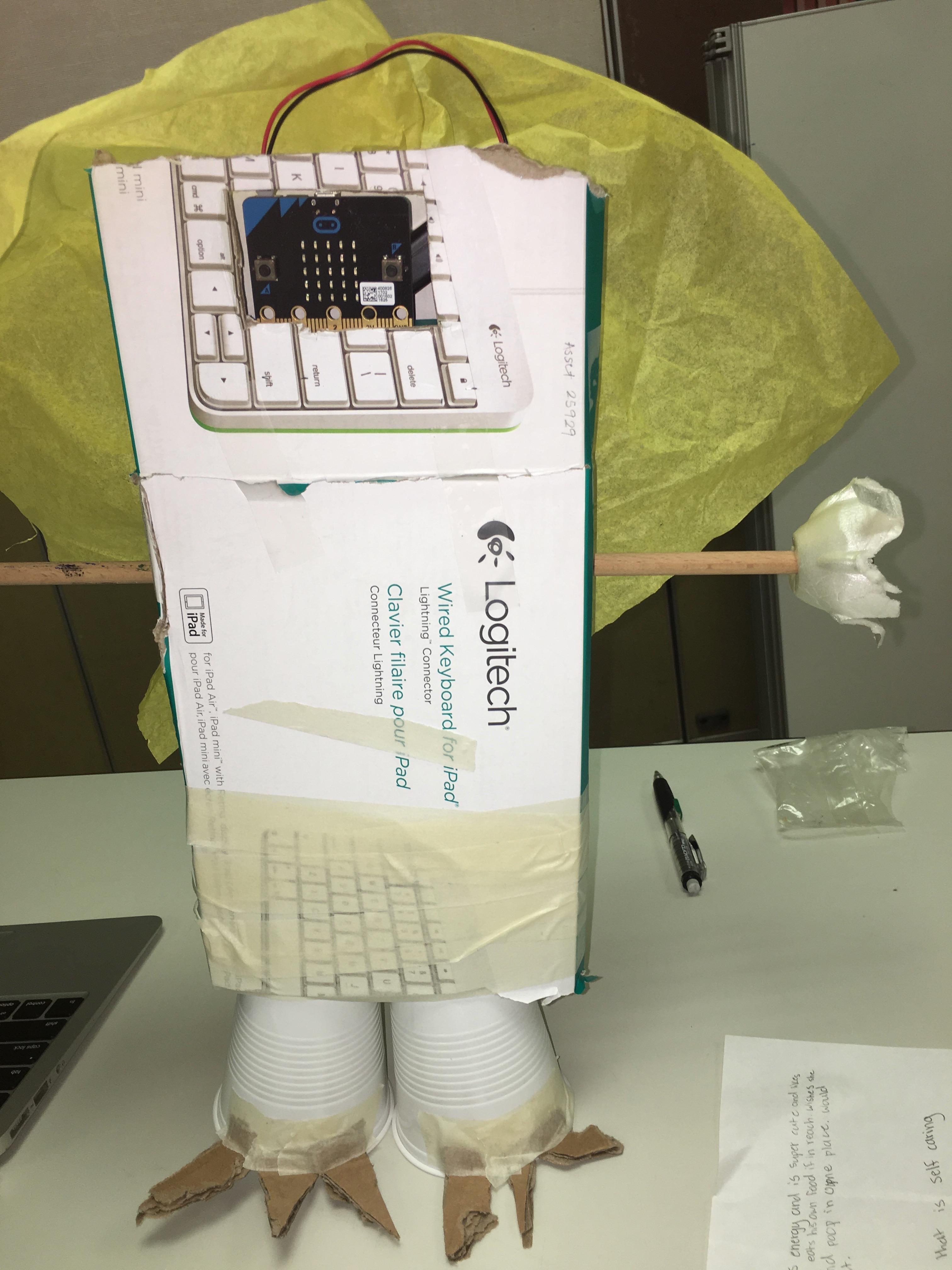 A robot micro:pet