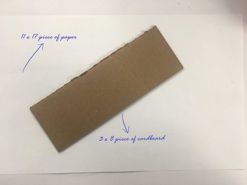Recycled: paper and cardboard