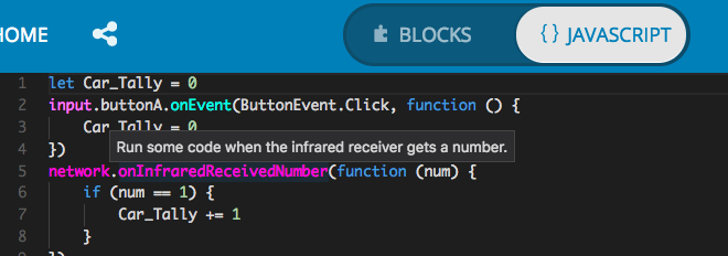 Tooltips for functions on mouse hover