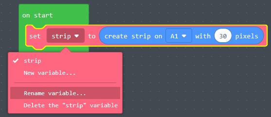 Rename strip variable