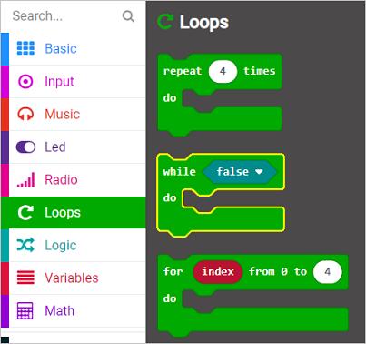 New while loop block