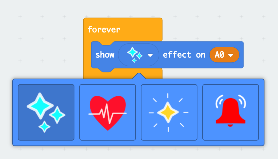 show effect block screenshot