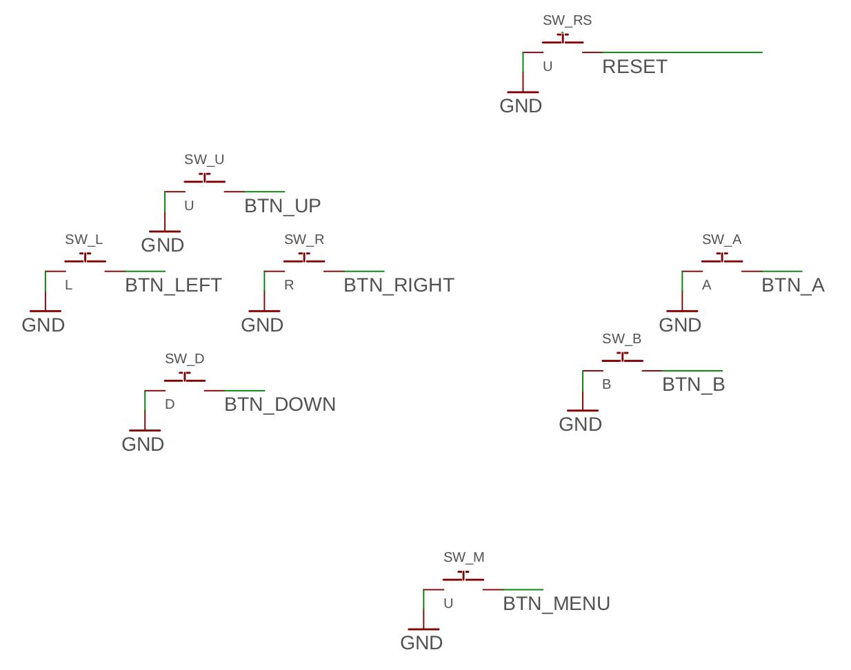 Button connection