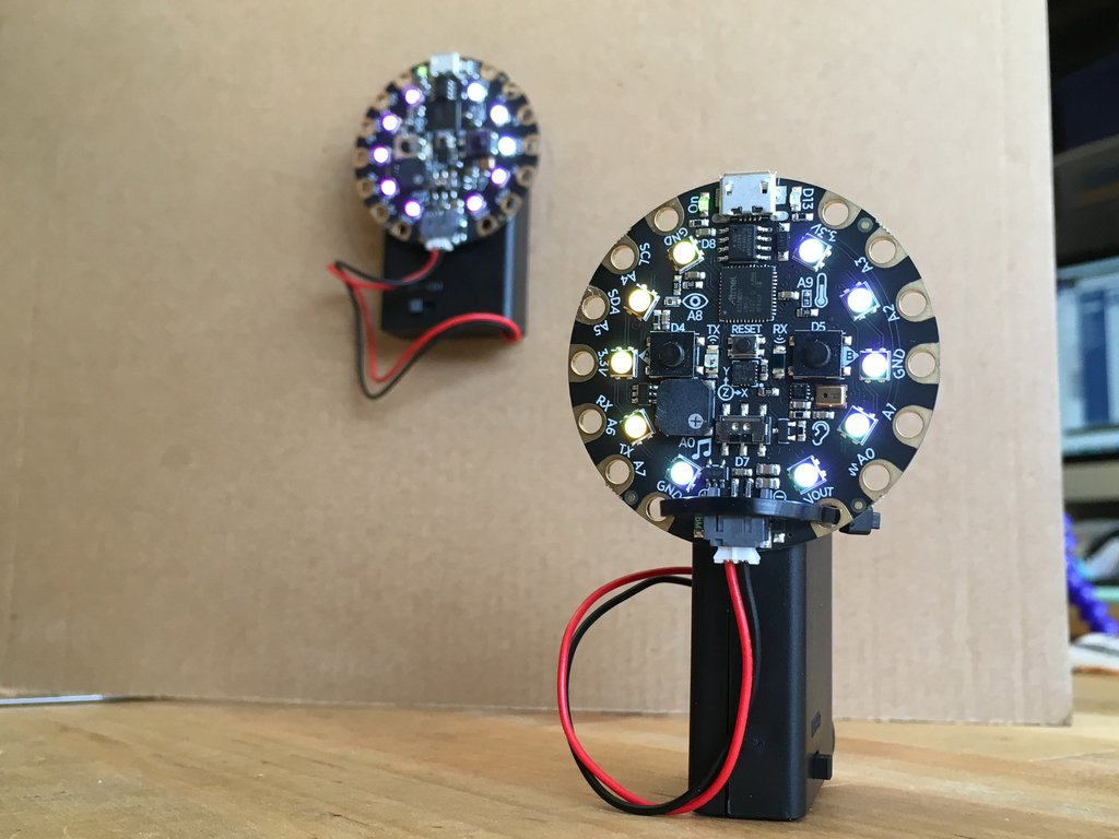 A CircuitPlayground laser tag