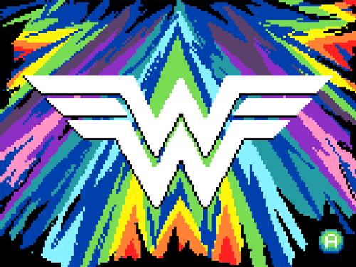 Wonder Woman Maze