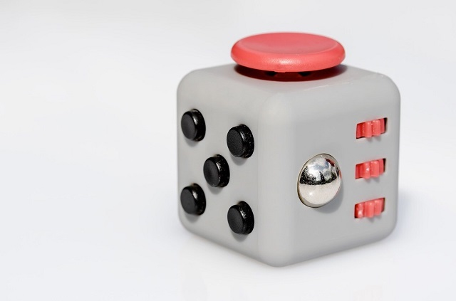 Sample fidget cube