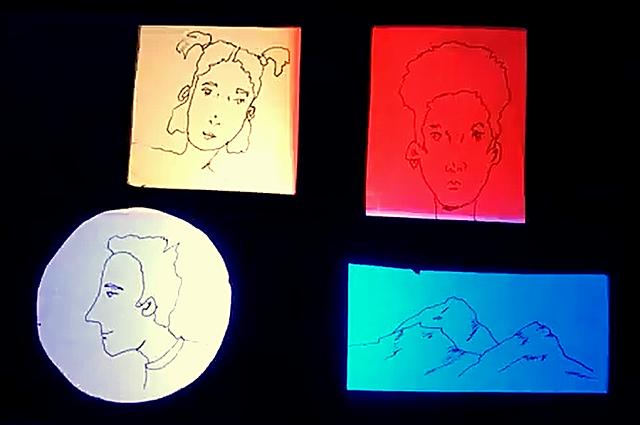 Light box drawings