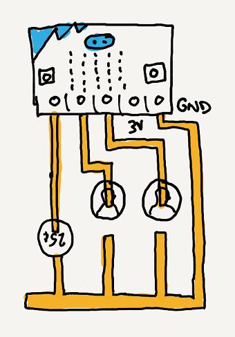 micro:bit cash register