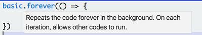 Code tooltips