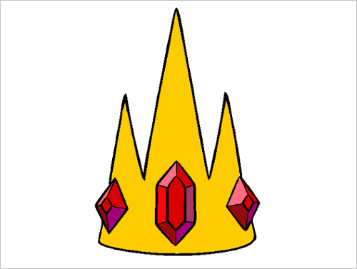 Ice King crown silloute