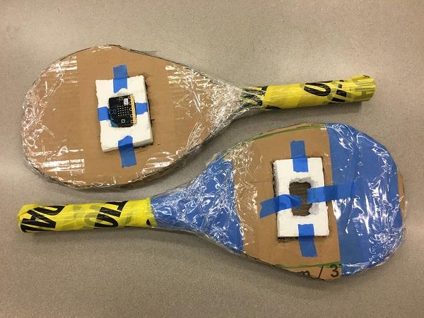 Radio tennis racquets