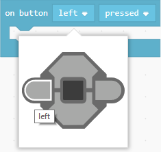 Dropdown with button choices