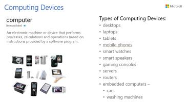 Unit 2 - Computing Devices