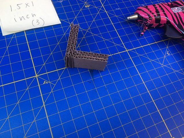 Angle bracket side view