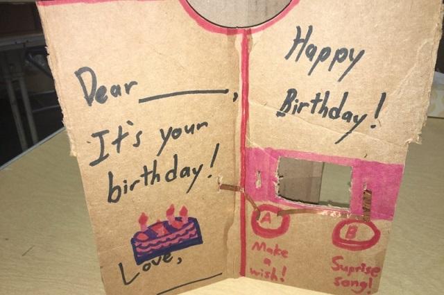 Birthday Card Project