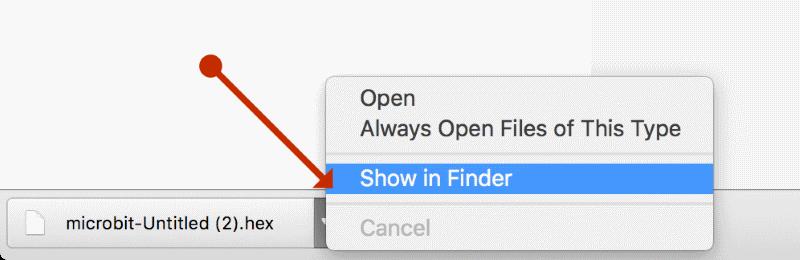 Uploading from Chrome for Mac - Microsoft MakeCode
