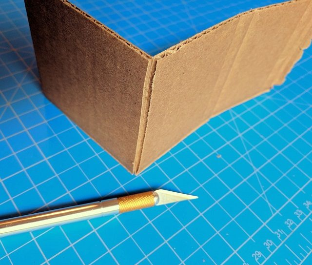 Slice a single layer to make a bend