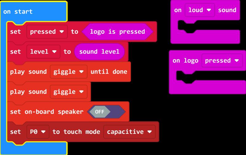 A screenshot of the v2 blocks
