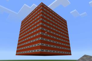 A stack of TNT blocks