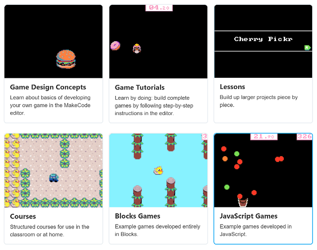 MakeCode Arcade Resources