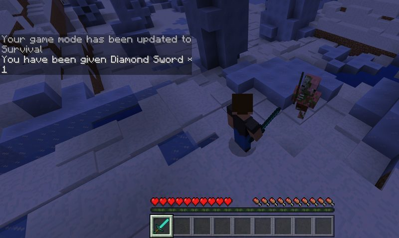 Mini-Game survival mode