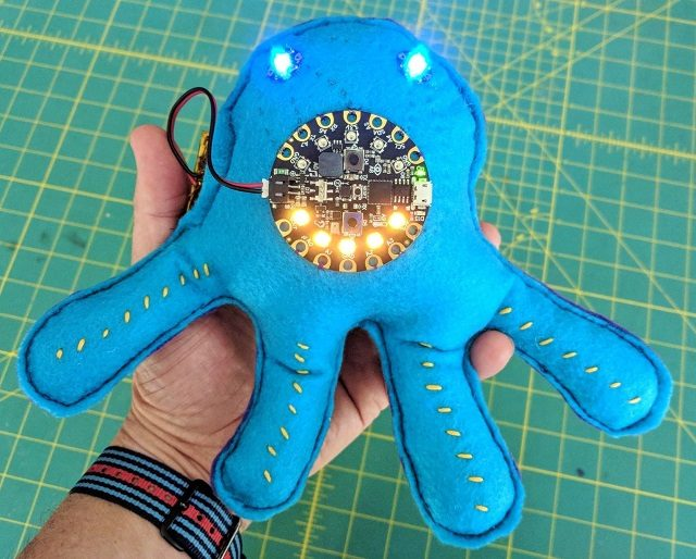 Electronic Interactive Fabric Friend