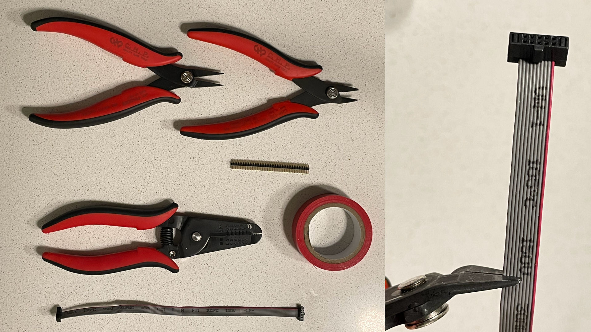 Cortex components and cutting the cable