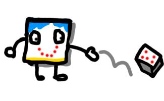 A microbit dice