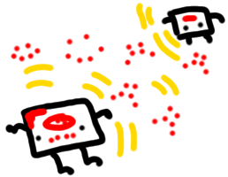 micro:bit sending moods around