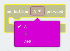 Make on button B