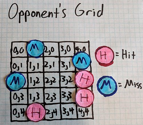 Opponent's Grid Example