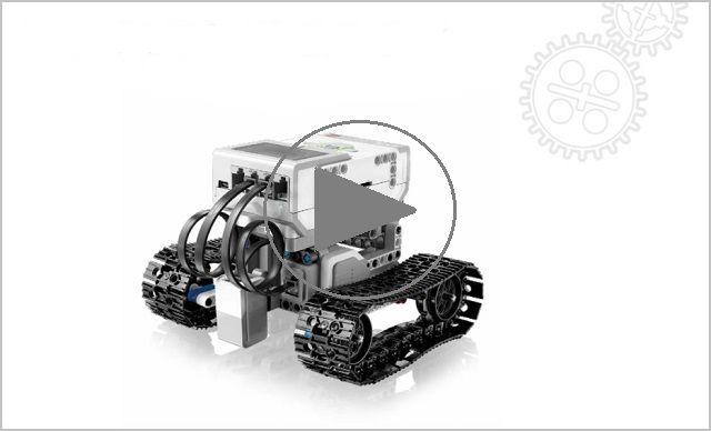 Video: EV3 Track Rover