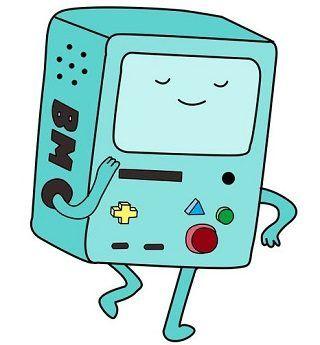 BMO cartoon character