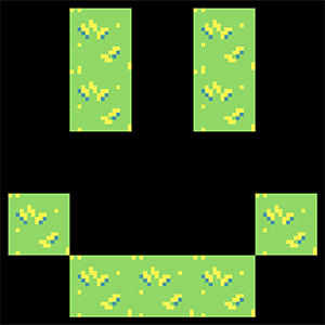 Image of the tilemap created in the previous snippet