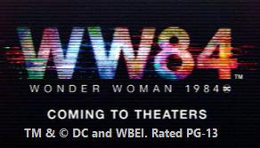 Wonder Woman 1984 promo